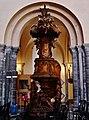 Tournai Cathédrale Notre-Dame Innen Kanzel 1.jpg