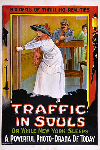 Traffic in Souls - Theatrical poster