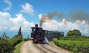Ghum, West Bengal - Darjeeling to Ghoom Heritage Narrow Gauge Train
