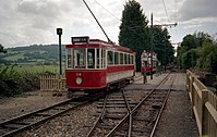 Tram No 14 at Colyton - geograph.org.uk - 820121.jpg