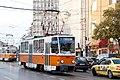 Tram in Sofia near Macedonia place 2012 PD 074.jpg