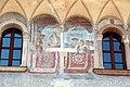 Trento, palazzo geremia, con affreschi di scuola veronese o vicentina del 1490-1510 ca. 04.jpg