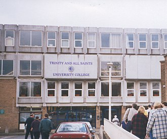 Leeds Trinity University - Trinity and All Saints College, 1999