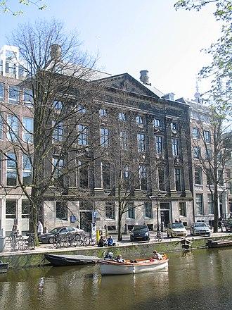 Kloveniersburgwal, Amsterdam - The Trippenhuis