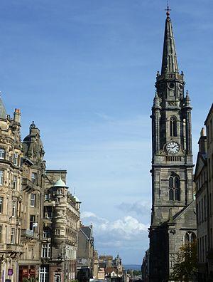 Tron Kirk - The Tron Kirk in Edinburgh's High Street