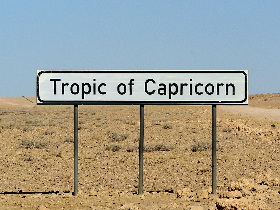 Tropic of Capricorn (Namibia)
