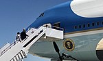 Trump and his wife boarding Air Force One for Japan's state visit.jpg