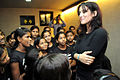 Tulip Joshi interacts with young girls at Arts in Motion's 'Dance with Joy' event 08.jpg