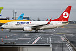Turkish Airlines, TC-JKO, Boeing 737-752 (22933105963).jpg