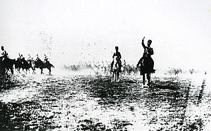 Great Offensive - Image: Turkish cavalry during mopping‐up operation 1922