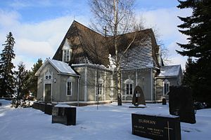 Tuusula - The wooden church of Tuusula