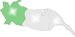 Iğdır il haritasında Tuzluca