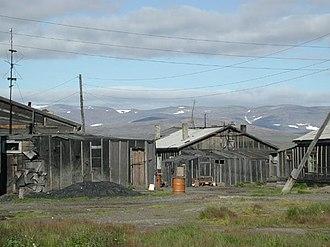 Lorino, Chukotka Autonomous Okrug - A typical family home in Lorino