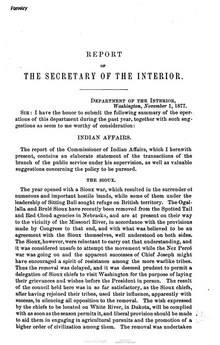 U.S. Department of the Interior Annual Report 1877.djvu