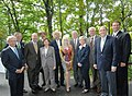 U.S. Senators Bob Corker, Richard Burr, Lamar Alexander, Congressman John Duncan among others at the Great Smoky Mountains National Park in 2009.jpg