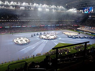 2017 UEFA Champions League Final - The opening ceremony