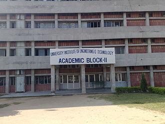 Panjab University - UIET Building