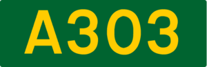 Wake the Union - The A303 road sign is one of the symbols featured on the album cover.