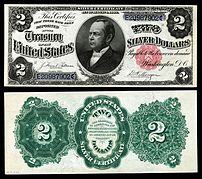 William Windom United States Silver Certificate