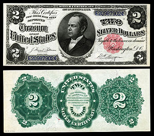 William Windom - Windom appears on U.S. silver certificates