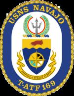 USNS Navajo T-ATF-169 Crest