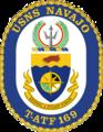 USNS Navajo T-ATF-169 Crest.png