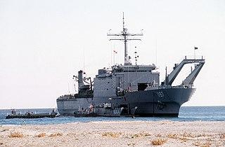 USS <i>Barnstable County</i> Newport-class tank landing ship