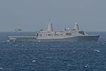 USS Bonhomme Richard, Ammo transfer 150323-N-UF697-143.jpg
