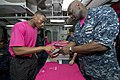 USS Bonhomme Richard goes pink for Breast Cancer Awareness Month 121009-N-XY604-029.jpg