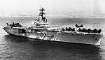 USS Iwo Jima (LPH-2) off Beirut, Lebanon, in 1983.jpg