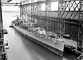 USS Springfield (CLG-7) during conversion at Fore River Yard in 1958.jpg