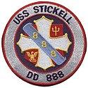 USS Stickel patch