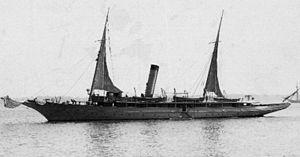 USS Vixen (PY-4) - Image: USS Vixen 1898