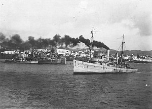USS Woodcock (AM-14) - Image: USS Woodcock (Minesweeper No. 14)