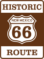 US 66 (NM historic).svg
