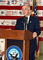 US Navy 020911-N-4868G-019 the Honorable Gordon R. England, Secretary of the Navy, addresses the families and friends of Navy personnel who perished in the September 11, 2001attack.jpg