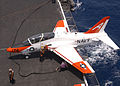 US Navy 030716-N-4757S-031 A T-45C Goshawk prepares to be fueled.jpg