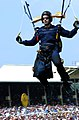 US Navy 040515-N-4729H-065 Lt. Cmdr. Gus Kaminski, officer in charge of the Navy parachute team the Leapfrogs, drops into Pimlico Race Track.jpg