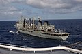 US Navy 040711-N-5055W-015 The amphibious assault ship USS Tarawa (LHA 1) pulls alongside the Australian auxiliary oiler replenishment ship HMAS Success (AOR 304).jpg