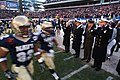 US Navy 041204-N-2383B-161 Navy Midshipmen take to the field at the start of the 105th Army Navy game.jpg