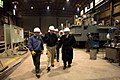 US Navy 080114-N-8273J-009 Chief of Naval Operations (CNO) Adm. Gary Roughead takes a tour of Marinette Marine Shipyard.jpg