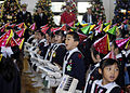 US Navy 081206-N-8534H-010 Children from Seika Kindergarten sing traditional Christmas songs during Fleet Activities Yokosuka's (CFAY) Grand Illumination open base event.jpg