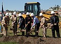 US Navy 100217-N-3411A-070 Distinguished guests break ground for a child development center at Naval Base Point Loma.jpg
