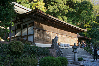 Shinto architecture - Ujigami Shrine in Uji, Kyoto Prefecture