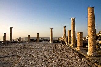 Irbid Governorate - A Byzantine church in Um Qais
