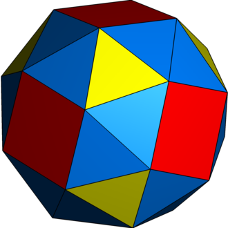 Snub (geometry) - Image: Uniform polyhedron 43 s 012