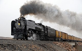 Union Pacific 844 Preserved American 4-8-4 steam locomotive