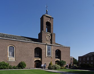 University of Nottingham Halls of Residence - Cripps Hall - Clock Tower
