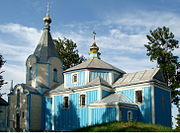 Usychi Lutskyi Volynska-Saint Stephans church-after reconstruction in 2014.jpg