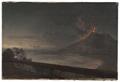 Utsikt mot Vesuvius från Villa Quisisana (Johan Christian Dahl) - Nationalmuseum - 174865.tif
